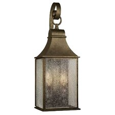 Outdoor 2 Light Hanging Wall Mount Lantern