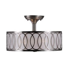 Venn 2 Light Semi Flush Mount