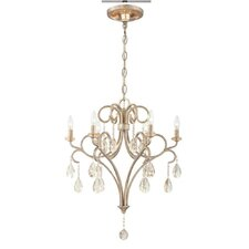 Caruso 6 Light Candle Chandelier