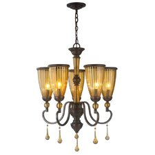 Amber Marie 5 Light Chandelier