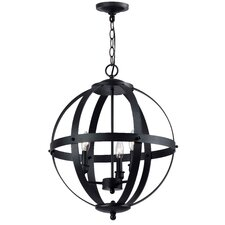 Magellen 3 Light Globe Pendant