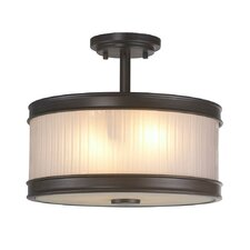 Nikolai 2 Light Semi Flush Mount