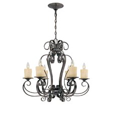 Stafford Spring 6 Light Chandelier
