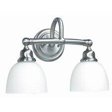 Amelia 2 Light Bath Vanity Light