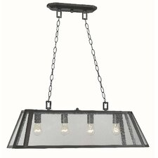 <strong>World Imports</strong> Bedford 4 Light Kitchen Island Pendant