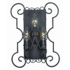 Alistar 3 Light Wall Sconce