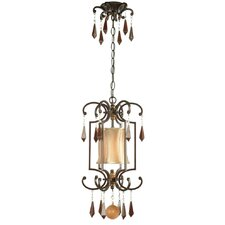 Turin 1 Light Cage Pendant