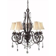 <strong>World Imports</strong> Berkeley Square 5 Light Chandelier