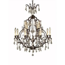 Timeless Elegance 12 Light Chandelier