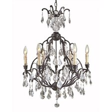 Timeless Elegance 6 Light Chandelier