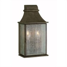 Outdoor 2 Light Wall Mount Lantern