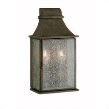 Outdoor 2 Light Wall Mount Lantern