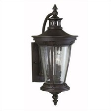 Old World Charm 3 Light Outdoor Wall Mount Lantern