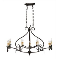 Reserved Charm 12 Light Chandelier