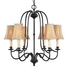 Metalcraft 6 Light Chandelier