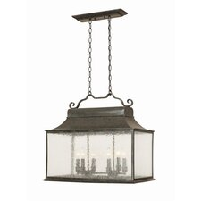 Revere 6 Light Large Indoor/Outdoor Island Light