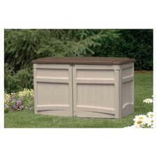 4.5ft. W x 29.5in. D Resin Tool Shed