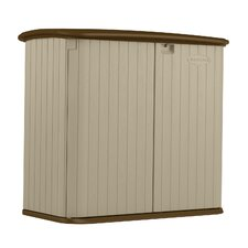 6 ft. W x 2.5 ft. D Resin Storage Shed