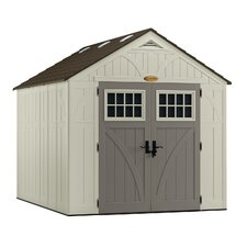 Tremont 8.5ft. W x 10ft. D Resin Storage Shed