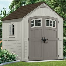 "Cascade 7'35"" W x 7'25"" D Resin Storage Shed"