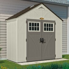 "Tremont 8'38"" W x 4'4"" D Resin Storage Shed"
