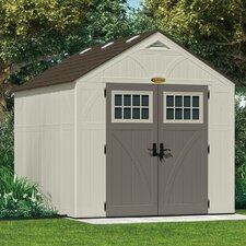 "Tremont 8'38"" W x 10'19"" D Resin Storage Shed"