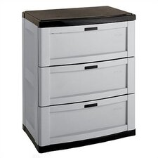 3 Drawer Utility Storage Cabinet