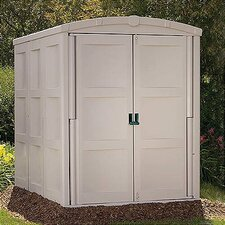 "5'5"" W x 7'8"" D Resin Tool Shed"