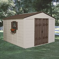10ft. W x 10ft. D Storage Shed