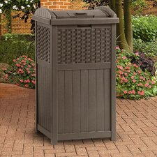 33-Gal. Trash Hideaway Trash Receptacle