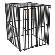 European Style Predator Top Wide Yard Kennel