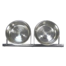 <strong>Jewett Cameron</strong> Lucky Dog Static 2 Pet Bowl System