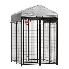 Lucky Dog Uptown Dog Panel Box Kennel