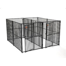 European Style 2 Run Kennel