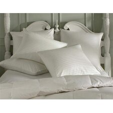Sateen Pillow Protector in White