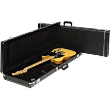 Deluxe Stratocaster / Telecaster Left Handed Case in Black