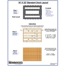 "192"" x 264"" Standard Dock Layout"