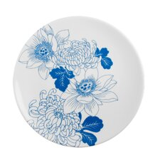 "<strong>Ink Dish</strong> Tattoo Lotus 7.75"" Side Plate"