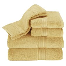 Kassadesign 6 Piece Towel Set in Gold