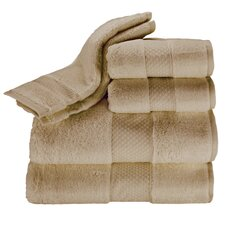 Elegance 6 Piece Towel Set in Desert Sand