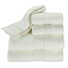 Elegance 6 Piece Towel Set in Ivory