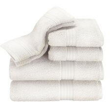 Kassadesign 6 Piece Towel Set in White