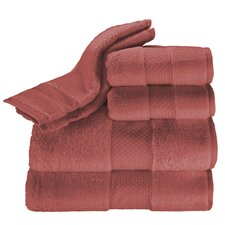 Elegance 6 Piece Towel Set in Cayenne