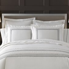 <strong>Kassatex Fine Linens</strong> Letto Tribeka Bedding Euro Sham (Set of 2)