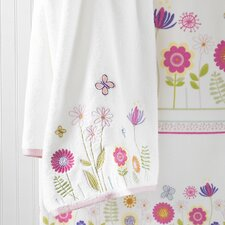 Bambini Garden Party Embroidered Bath Towel (Set of 6)