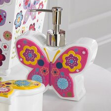 <strong>Kassatex Fine Linens</strong> Bambini Butterflies Lotion Dispenser