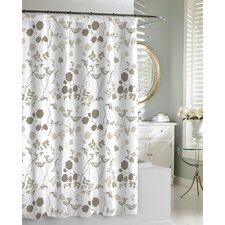 <strong>Kassatex Fine Linens</strong> Giardino Cotton Shower Curtain