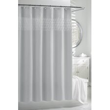 Smock Pleat - Cortina Polyester Shower Curtain