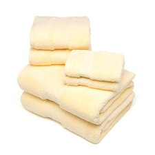 Elegance 6 Piece Towel Set in Sunshine