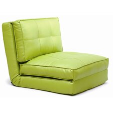 <strong>New Spec Inc</strong> Klik Klak Single Vinyl Sleeper Sofa